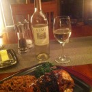 Bone-In Chicken Breast with Fig jam marinade