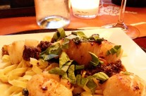 Pan Seared Scallops and Morels- Rylee's Surf and Turf